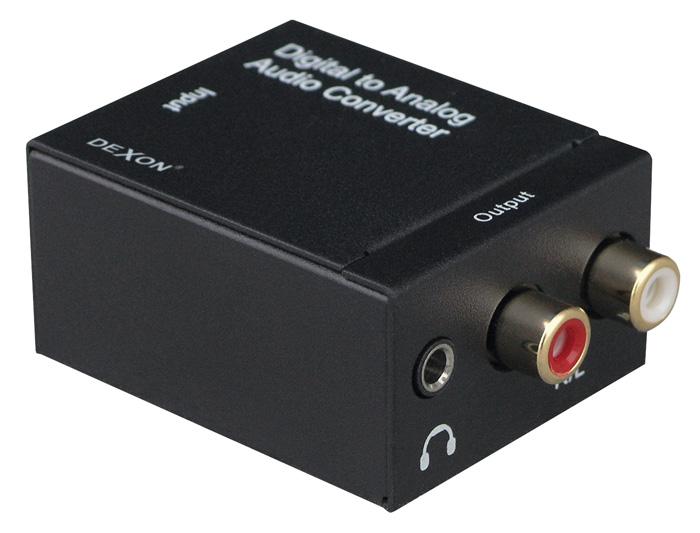NS 71 converter S/PDIF Coaxial + TOS-Link / RCA audio