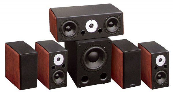 Home cinema speaker set 5.1 Largo 70 + Largo 120 + SUB 1201A