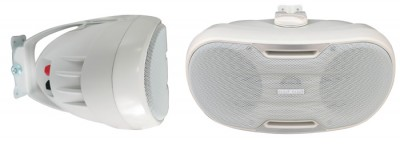 SP 402 speaker box white