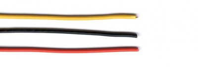 Wires with insulation, various types