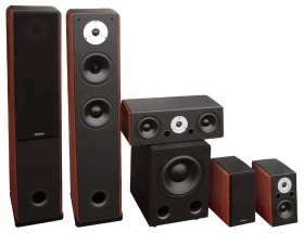 Largo 130 + Largo 70 + Largo 120 + SUB 1201A home cinema speaker set 5.1
