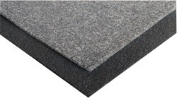 Carpet black-gray 2m