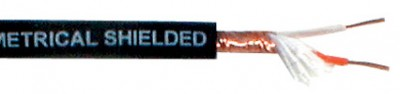Shielded cable professional 2 wires core