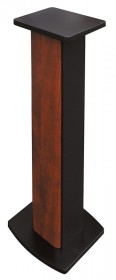 Hifi stand 700 mm wood brown-black