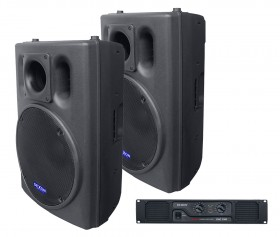 2× BCW 1500 + DAC 1300 speakers set