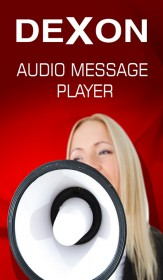 Audio Message Player application for message playback