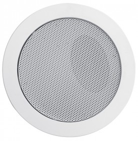 SRC 106EN ceiling speaker with steel cover evacuation