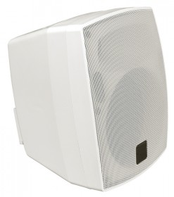 CT 552BTBS speaker with handle bílá with 100V transformer evacuation