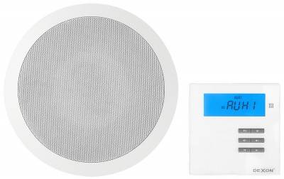 RP 93 + MRP 2171 set ceiling speaker and on-wall player