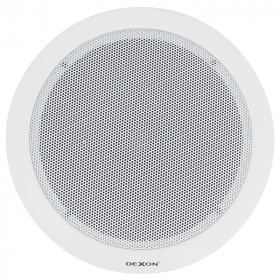 MCS 620T ceiling speaker with steel cover evacuation