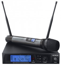 MBD 840 diversity wireless hand-held microphone