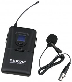 MBD 932T diversity wireless belt-pack transmitter with lavalier microphone only
