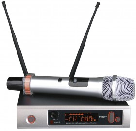 MBC 840 diversity wireless hand-held microphone