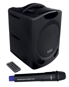 WA 400RC speaker system with hand wireless microphone