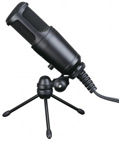 MC 650 condenser microphone for studios, with USB