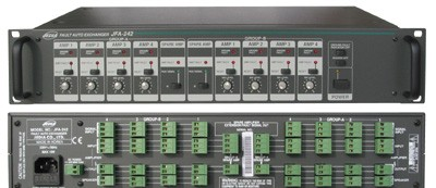JFA 242U switch of backup amplifiers