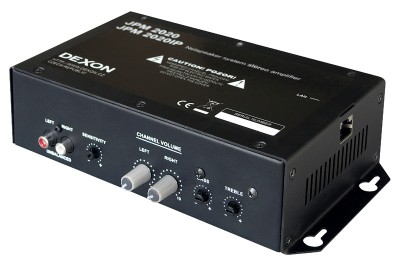 JPM 2020IP stereo power IP amplifier