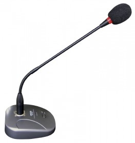 PA 570 desk counter microphone