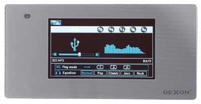 MRP 2200 on-wall player with amplifier