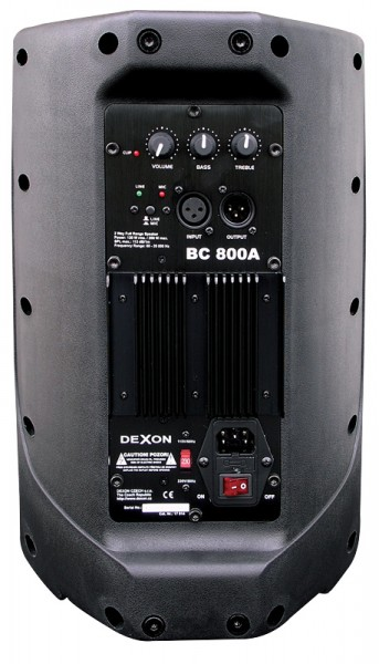 2x BC 800A + MBD 840 + MD 505 speakers set with microphones
